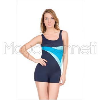 2014 DAGİ Toplayıcı Şortlu Yüzücü Modeli Mayo