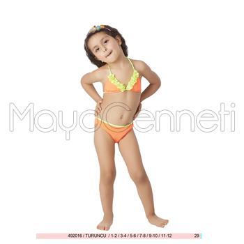 2014 SUNSET Küçük Üçgen Kız Çocuk Bikini