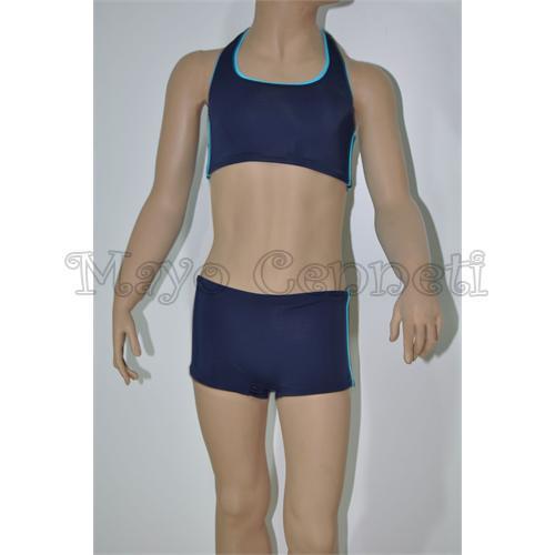 NELSON Yüzücü Şortlu Kız Çocuk Bikini