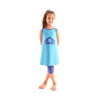 Estiva kız çocuk mayo - mavi