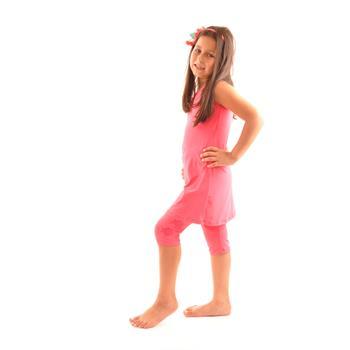 Estiva kız çocuk mayo - mercan