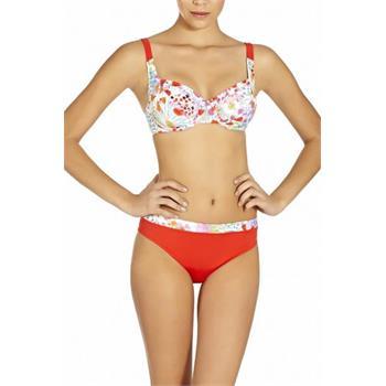 Pierre cardin minimizer bikini - kırmızı