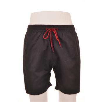 Naypes lastikli erkek şort mayo - siyah