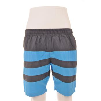 Naypes lastikli erkek şort mayo - mavi