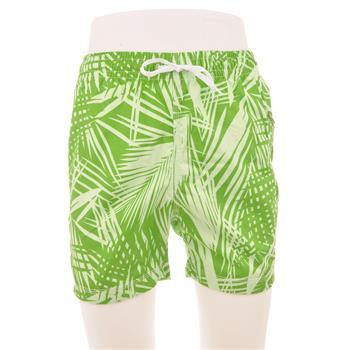 Naypes lastikli erkek şort mayo - yeşil