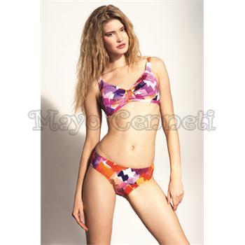 Sunset toplayıcı bikini - pembe