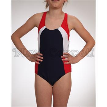 SUNSET FIONCO Yüzücü Modeli Kız Çocuk Mayo